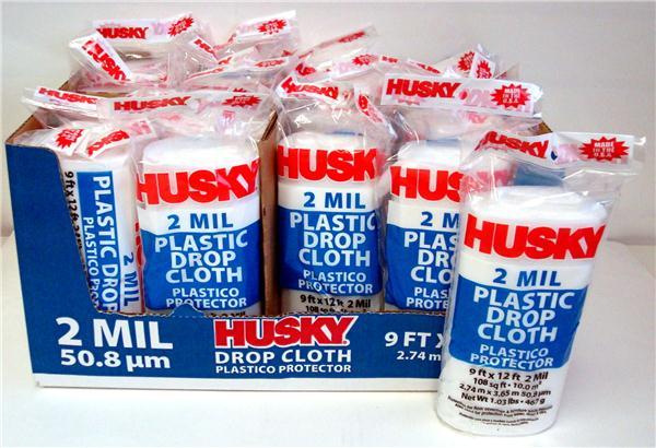 Xs merchandise wholesale products low prices quality merchandise 9 x 12 plastic drop cloth case pack 24 upc 073257009447 publicscrutiny Gallery